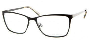 Nicole Farhi NF0043 glasses in Matt Black