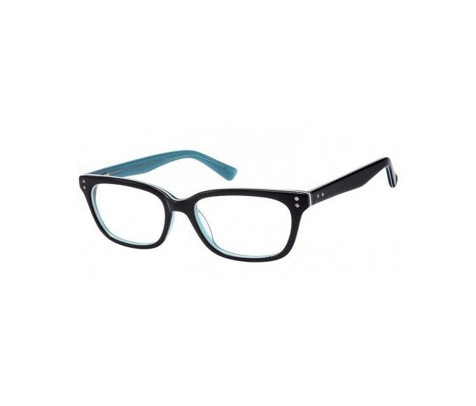 SFE-8129 in Black/clear turquoise