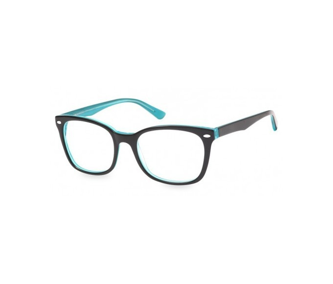 SFE-8149 in Black/clear turquoise