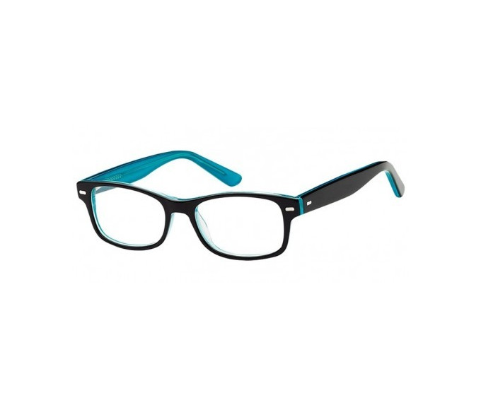 SFE-8165 in Black/clear turquoise