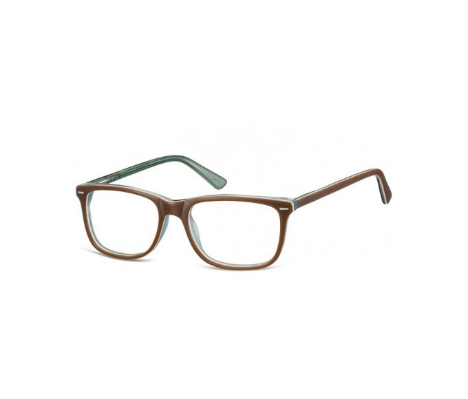 SFE-8262 in Brown/Transparent Green
