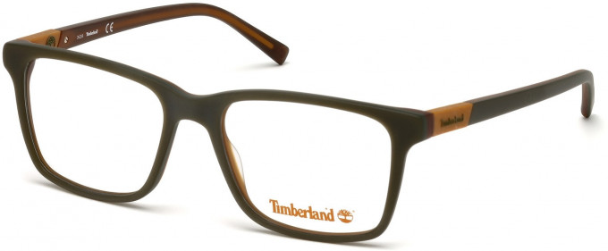 Timberland TB1574 glasses in Matt Dark Green