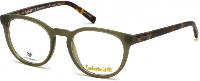 Timberland TB1579 glasses in Matt Dark Green