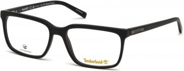 Timberland TB1580-57 glasses in Matt Black