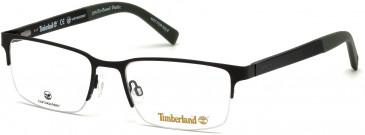 Timberland TB1585-58 glasses in Matt Black
