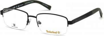 Timberland TB1588 glasses in Matt Black