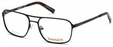 Timberland TB1593 glasses in Matt Black