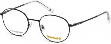 Timberland TB1606-50 glasses in Matt Black