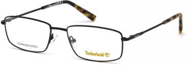 Timberland TB1607-48 glasses in Matt Black