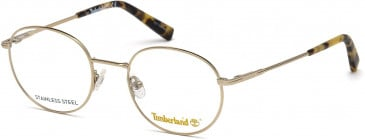 Timberland TB1606-48 glasses in Shiny Rose Gold