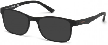 Timberland TB1352-54 sunglasses in Matt Black