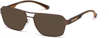 Timberland TB1358 sunglasses in Matt Black