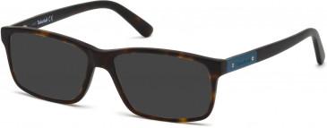 Timberland TB1362 sunglasses in Matt Black