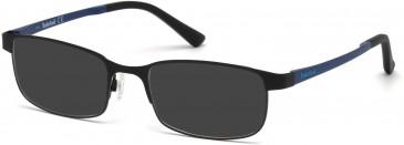 Timberland TB1348 sunglasses in Matt Black
