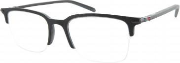 Ducati DA1003 Glasses in Matt Black