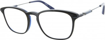 Ducati DA1004 Glasses in Black/Blue