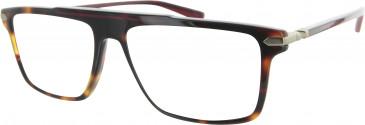 Ducati DA1009 Glasses in Tortoiseshell/Red