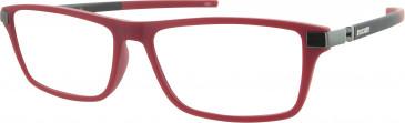 Ducati DA1005 Glasses in Red