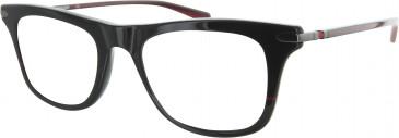 Ducati DA1008 Glasses in Black/Red
