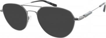 Ducati DA3004 Sunglasses in Gunmetal/Black