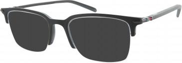 Ducati DA1003 Sunglasses in Matt Black