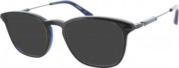 Ducati DA1004 Sunglasses in Black/Blue
