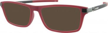 Ducati DA1005 Sunglasses in Red