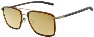 Ducati DA7002 Sunglasses in Gold/Brown