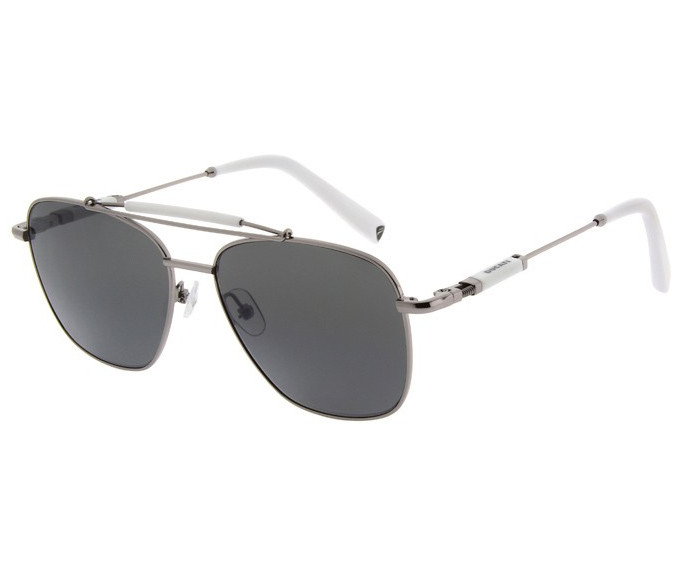 Ducati DA7003 Sunglasses in Gunmetal/White