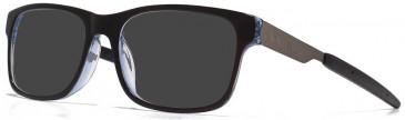Animal Plastic Prescription Sunglasses in Black