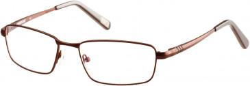 CAT CTO-HEX glasses in Matt Brown