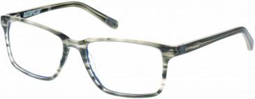 CAT CTO-CHUCK glasses in Gloss Khaki Horn