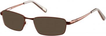 CAT CTO-HEX Sunglasses in Matt Brown
