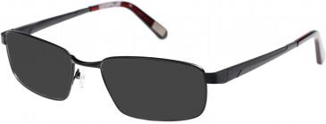 CAT CTO-PYRITE Sunglasses in Matt Black