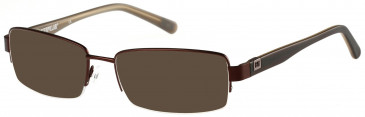 CAT CTO-FLINT Sunglasses in Matt Brown