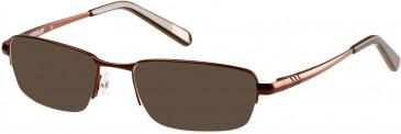 CAT CTO-POZI Sunglasses in Matt Brown