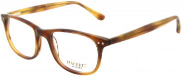 Hackett HEB124 Glasses in Brown Horn