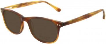 Hackett HEB124 Glasses in Brown Horn