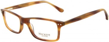 Hackett HEB126 Glasses in Brown Horn