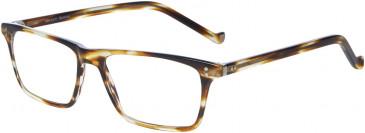 Hackett HEB142 Glasses in Brown Horn