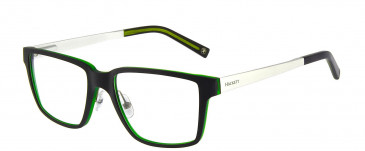 Hackett HEK1154 Glasses in Black/Crystal Green