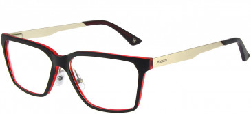 Hackett HEK1156 Glasses in Black/Crystal Red