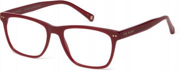 Ted Baker Plastic Prescription Glasses in Burgundy