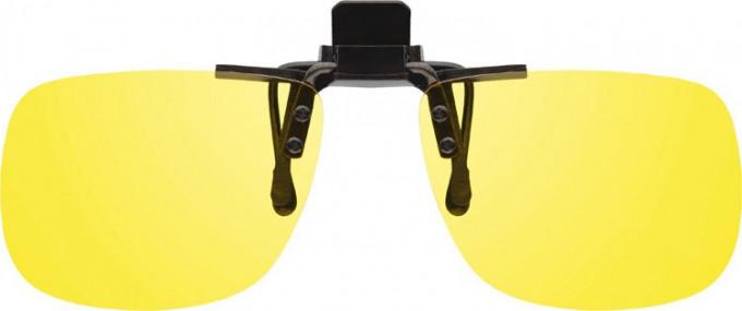 Polarised Clip-on Sunglasses in yellow