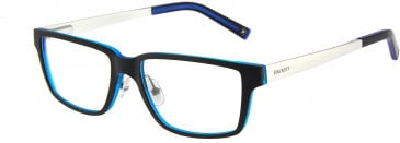 Hackett HEK1155 Glasses in Black/Crystal Blue