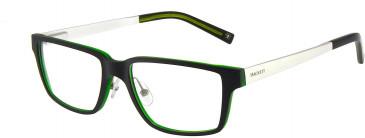 Hackett HEK1155 Glasses in Black/Crystal Green