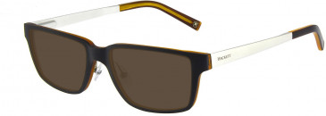 Hackett HEK1155 Glasses in Black/Light Brown
