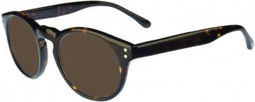 Hackett Bespoke 089 Sunglasses In Tortoise