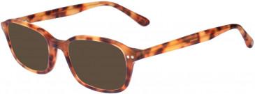 Hackett Bespoke 109 Sunglasses In Red Tortoise