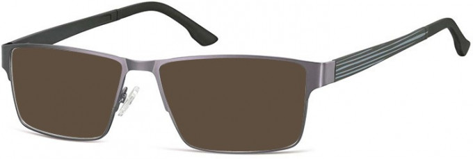 SFE-9740 Sunglasses in Dark Gunmetal